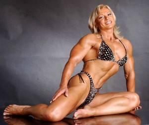 девушка мышцы фото