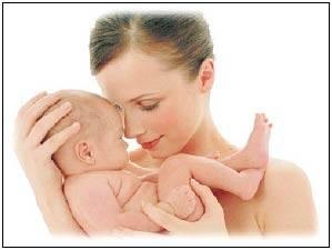 девушка с ребенком фото