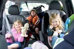 машина и дети