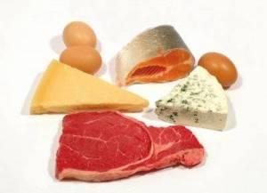 белки в продуктах птания
