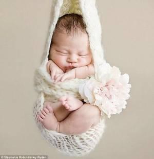 младенец в авоське