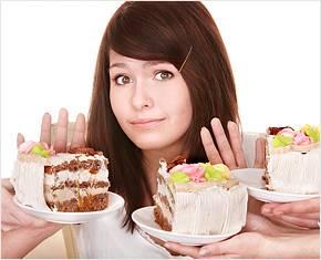 девушка и торты фото