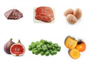 железо в продуктах