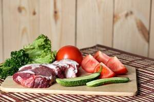 белок и овощи фото