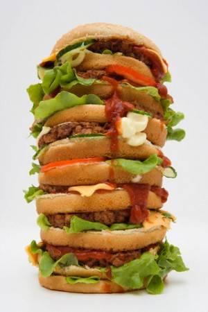 Huge Hamburger теория адекватного питания гамбургер