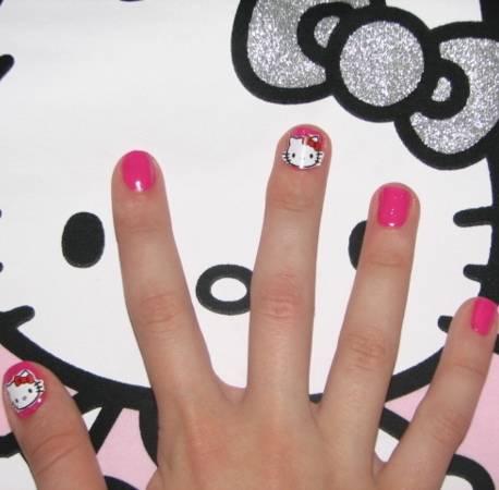 Ногти на выпускной для девочек